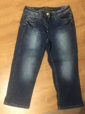 Cecil 3/4 Length Jeans blue