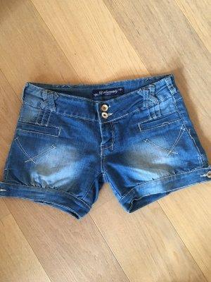 Denim Shorts blue-steel blue