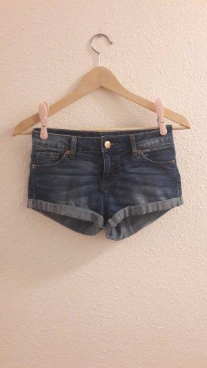 Amisu Denim Shorts multicolored
