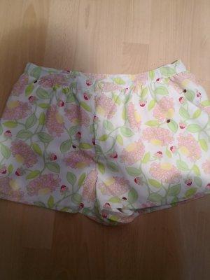 kurze Hose mit Blumen Muster