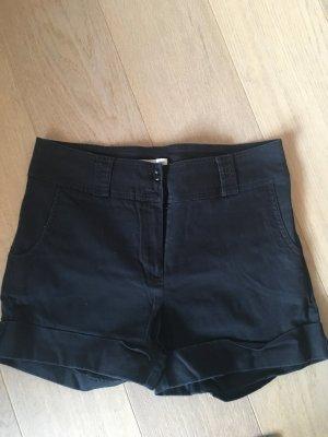 Kurze Hose Shorts Chino schwarz Basic Gr. 38