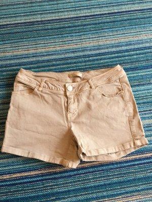 Kurze Hose Shorts Hotpants sexy beige Gr. S Promod