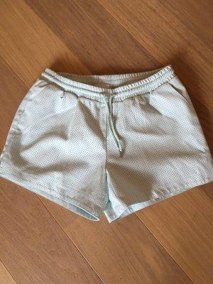 Kurze Hose Shorts Hotpants Sommer sexy pastell Leder Gr. 40 NEU