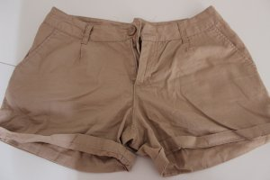 Kurze Hose, shorts in beige, Gr. 36