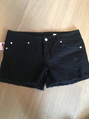 Bodyflirt Spijkershort zwart