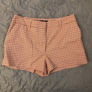 Kurze Hose / Shorts mit herbstlichen Farben