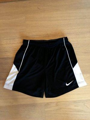 Kurze Hose Shorts Sporthose Nike schwarz weiß Fitness