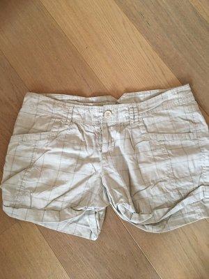 Kurze Hose Shorts Stoffhose leicht beige nude Gr. M