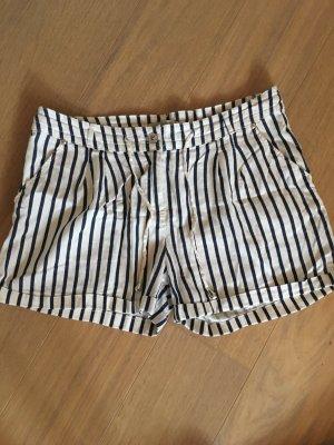 Hot Pants white-dark blue