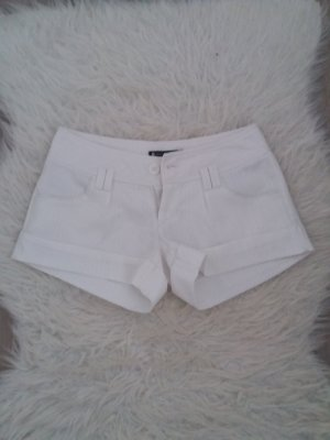 kurze Hose Shorts weiß XS S 34 36