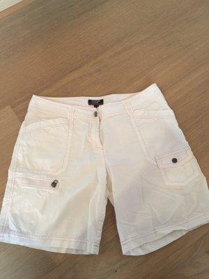 Kurze Hose Stoffhose Shorts Bermuda weiß Gr. 40 Esprit