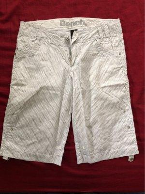 Bench Pantalón corto de tela vaquera blanco-gris claro
