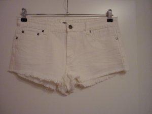 Forever 21 Pantalón corto blanco