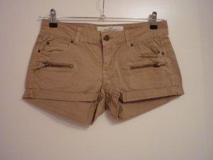 """Kurze Hose von """" H&M """", beige/braun, Gr. 38"""