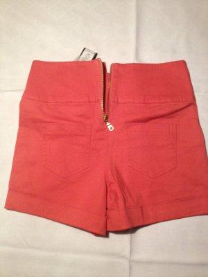 Pieces Trousers orange