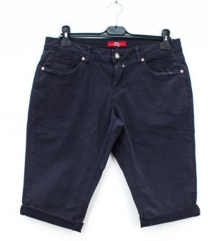 s.Oliver Denim Shorts dark blue cotton