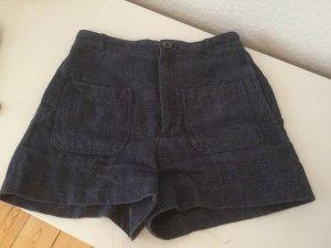 Kurze Hose von Zara in Jeansoptik