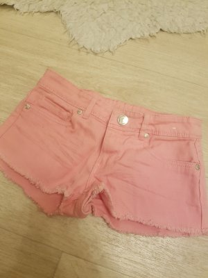Denim Co. Short moulant rose-rose fluo