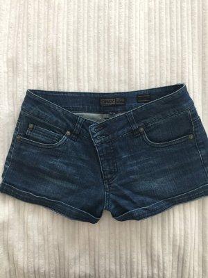 Kurze Hotpants dunkelblau