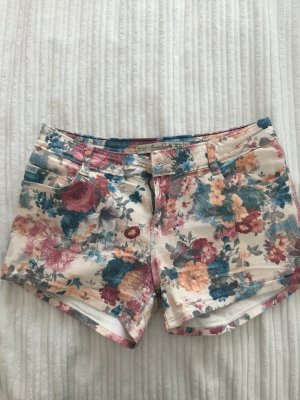 Kurze Hotpants Flowerprint