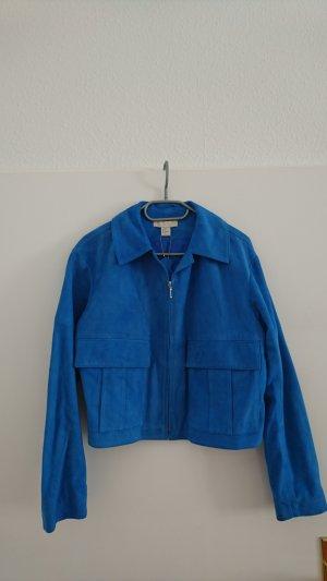 H&M Chaqueta azul aciano