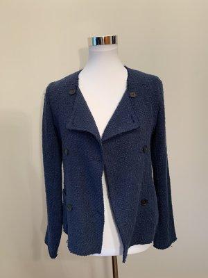 Kurze Jacke im Tweed-Look