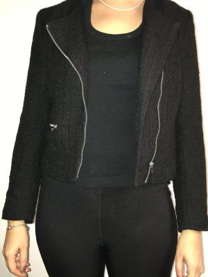 Kurze Jacke in schwarz H&M
