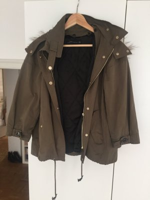 Kurze Jacke Khaki Zara M