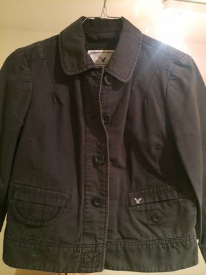 Short Jacket grey cotton