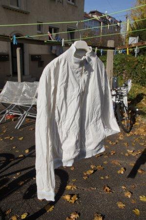 Tom Tailor College Jacket cream cotton