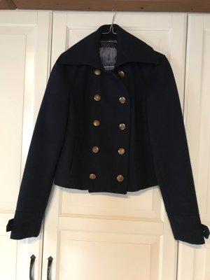 Kurze Jacke von Zara im Marinelook