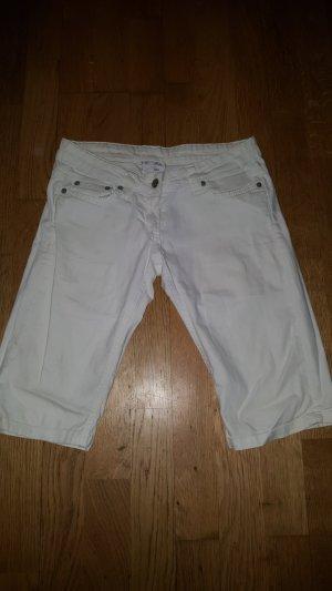 Pantalón pirata blanco