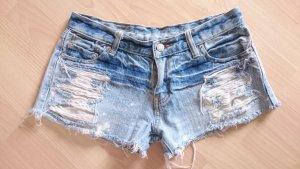 Jeans vita bassa multicolore Cotone