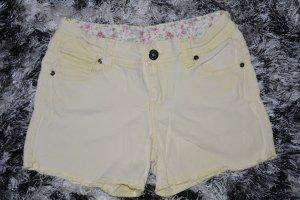 Kurze Jeans cremefarben C&A