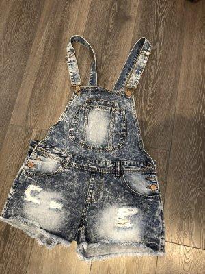 Kurze Jeans Latzhose