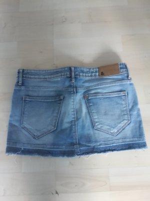 kurze Jeans Minirock used Look