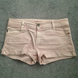 Kurze Jeans-Short Rose ZARA Gr. 40 used Look