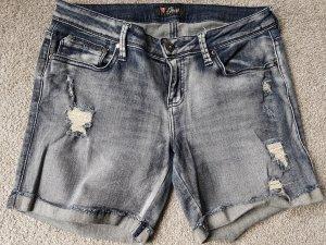 kurze Jeans used Look