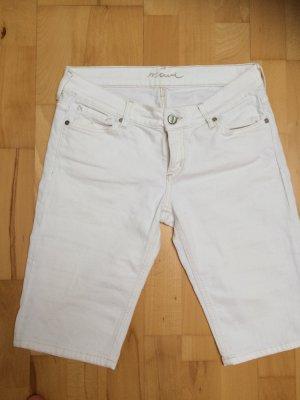 Kurze Jeans von Mavi weiß