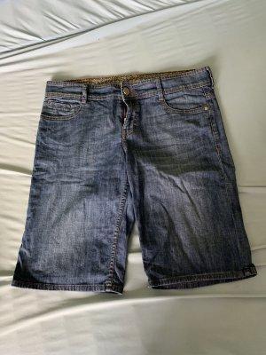 s.Oliver Denim Shorts blue