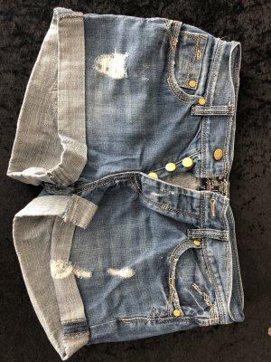 Shorts steel blue