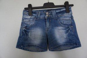 Shorts dark blue cotton