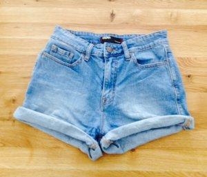 Urban Outfitters Hoge taille broek azuur
