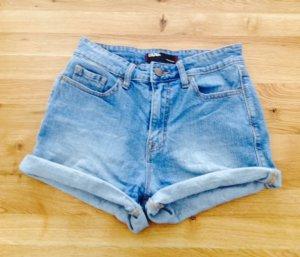 Urban Outfitters Pantalon taille haute bleu azur