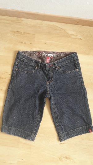 kurze Jeanshose von Esprit in blau/grau