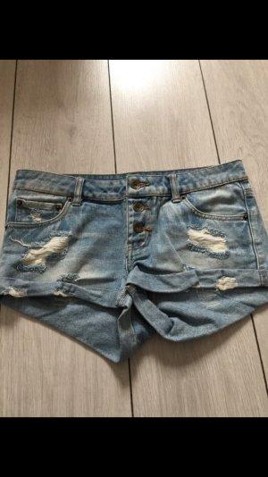 Kurze Jeanshose von Pieces