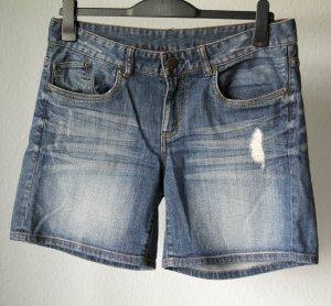 Takko Denim Shorts blue