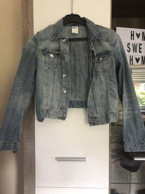 H&M Spijkerjack blauw
