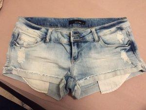 kurze Jeansshort blau