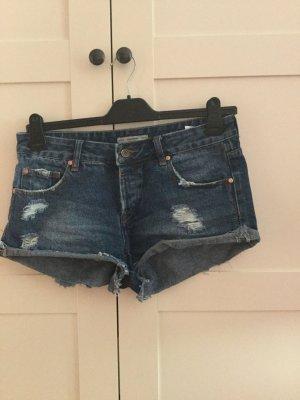 Kurze Jeansshort von Pull&Bear